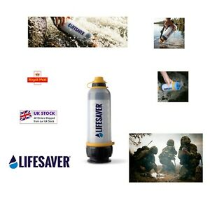 LifeSaver Military Grade 4000UF Ultrafiltration Water Bottle- Filters any water
