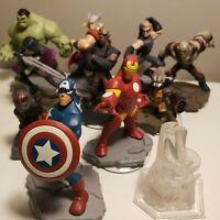 Lot of Disney Infinity Avengers & Guardians of Galaxy Figures READ DESCRIPTION