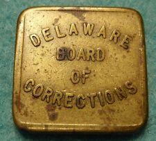1 Cent One Delaware Board of Corrections PRISON TOKENS Tokens RARE 1930-1939