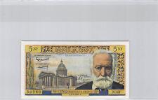 5 Nouveaux Francs Victor Hugo 2.2.1961 N.43 n° 0106259260 Pick 141a