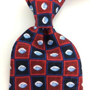 Men's PFIZER TIE VIAGRA Pill Medicine Maroon/Red CHECKERED Silk Men Necktie New