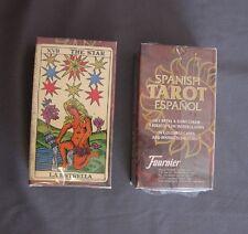 TAROT ESPAÑOL 78 cartas a color y folleto instrucciones HERACLIO FOURNIER
