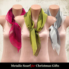 Polyester Unbranded Multi-Coloured Scarves & Wraps for Women