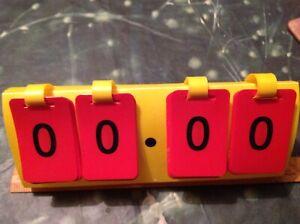 Number flip maths decimal set