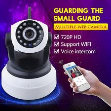 IP Kamera 720P CCTV WLAN Wifi Wireless Netzwerk Webcam IR Nachtsicht Camera DHL