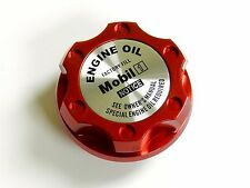 FORD MUSTANG MOBIL 1 BILLET RED ENGINE OIL CAP
