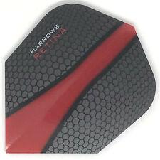 Dart Flights HARROWS RETINA Standard Shape Extra Strong BLACK RED