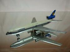 SCHUCO 335792 DOUGLAS DC10 LUFTHANSA - SILVER L9.0cm - GOOD CONDITION