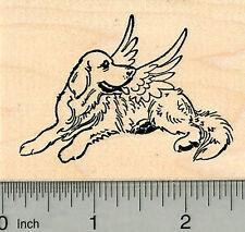 Dog Angel Rubber Stamp, Labrador Retriever, Pet Loss J32622 WM