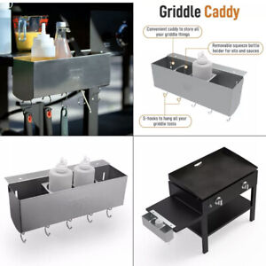 """Yukon Glory Stainless Steel Griddle BBQ Caddy for 28/36"""" Blackstone Grill YG-994"""