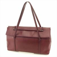 Cartier Shoulder bag Red Woman unisex Authentic Used E1248