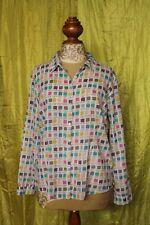 Seasalt Larissa blouse/ shirt size 14, pastel paint colours design