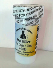 100 Capsules Instant Flea Killer for small Dogs / Cats 2-30lb Works FAST!! 30min