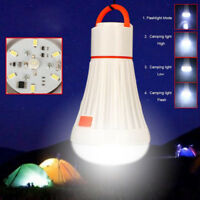 Hanging LED Camping Tent Light Bulb Fishing Lantern Lamp Outdoor Camping Bulb