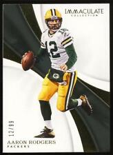 Aaron Rodgers 2017 Panini Immaculate Jersey Number 12/99 Packers