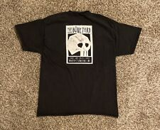 The Boneyard Skate & Surf Shop Mens Graphic T-Shirt Large Black Marthas Vineyard