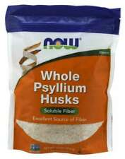 Now Foods Psyllium Husk Whole Soluble Fiber 1 lb 08/2022EXP