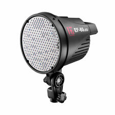 Jinbei EF-60W Portable LED Video Light with Umbrella Softbox Hold nd Cooling Fan
