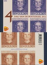 Países Bajos - 2012 Prestige marcas cuaderno MH nº 43 día del sello MH 88 **