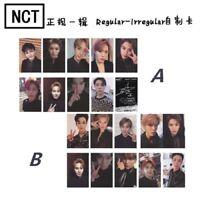 2019 Kpop NCT NCT127 Regular Irregular Photo Cards New Album Autograph Photocard