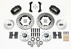 """Wilwood Forged Dynalite Pro Series Front Brake Kit 11"""" Rotor Drill #140-11009-D"""