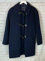 ESCADA SPORT Womens' Blue Toggle Wool Coat Jacket Size Large?