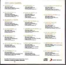 rare 80s 70s CD slip JUAN GABRIEL querida CON TU AMOR no tengo dinero ASI FUE