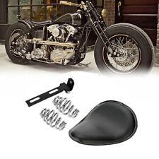 Solo Sitz Bobber Seat Motorradsattel für Custombikes Chopper Harley