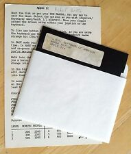 Robot Battle by USA Software with 5.25 inch disk for Apple II+,IIe,IIc,IIgs 1982