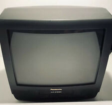 "Panasonic pv m2089 20"" CRT Color TV VCR Combo W/Remote Retro Gaming Television"