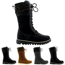 Ladies Waterproof Walking Warm Hiking Snow Rain Winter Mid Calf Boot All Sizes