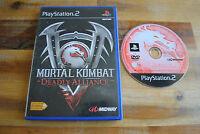 Jeu MORTAL KOMBAT DEADLY ALLIANCE sur Playstation 2 PS2 CD REMIS A NEUF
