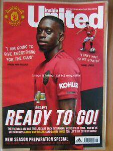 Inside United August 2019 Aaron Wan-Bissaka Bobby Charlton Ronaldo Manchester