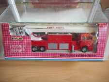 Edocar Mercedes Fire Truck in Red in Box
