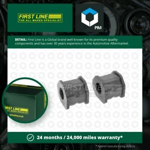 Anti Roll Bar Bush fits MITSUBISHI L200 K74T 2.5D Front Outer 96 to 07 Firstline