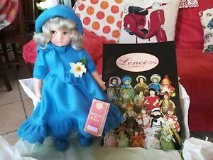 Bambola Lenci Franca Certificato con Etichetta In Box Nuovo+catalogo collezione