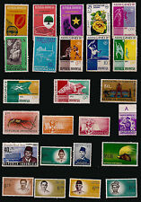 INDONESIA Characters, sports and figures various 82m510