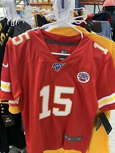 Nike Patrick Mahomes #15 Kansas City Chiefs Red NFL Youth Jersey All Sizes New