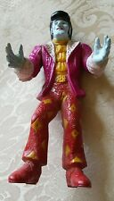 RETRO MONSTER ELVIS PLASTIC FIGURINE DOLL (Halloween, Vampire, Frankenstein)