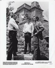 "R. Loggia, R. Franklin, A. Perkins in ""Psycho II"" (1983)Vintage Movie Still"