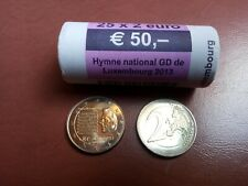 """Roll - Rouleau - 2013 – Luxembourg – 25 x 2 Euro  - """"Hymne National"""" - Luxemburg"""