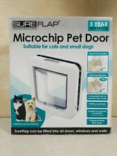 New Sureflap microchip pet door Sur101 - cats and small dogs