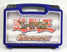 Yu-Gi-Oh! Game Tournament Blue Carrying Case Plastic Container