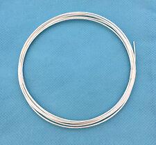 5.5ft 18gauge wire solid Sterling Silver round wire half oz dead soft w18DS