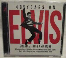 CD Elvis Presley - 40 Years On (Simply Media, 2017) 2-CD Brand New