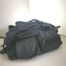 Mimco Lucid Baby Nappy Bag Weekend Overnighter Blue Authentic Turnlock