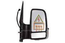 Mercedes Sprinter Full Door Wing Mirror Electric Black Short Arm O/S 2006 2018