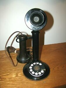 ANTIQUE BELL TELEPHONE CANDLE STICK TELEPHONE