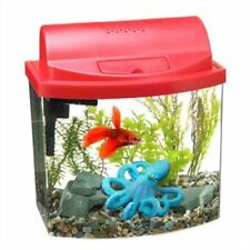 Aqueon 17773 Mini Bow 2-1/2 Desktop Aquarium Kit Red
