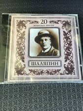 Feodor Chaliapin cd 20 Golden Songs ,2001, Sealed